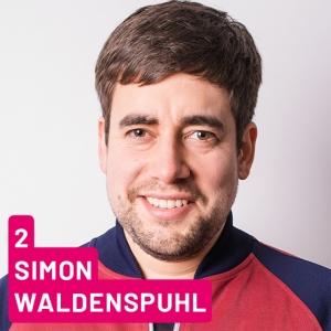 Listenplatz 2, Simon Waldenspuhl