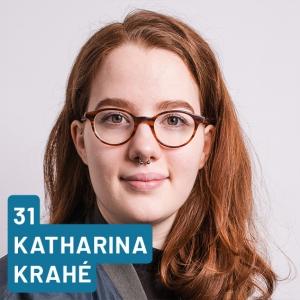 Listenplatz 31, Katharina Krahé