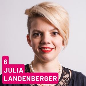 Listenplatz 6, Julia Landenberger